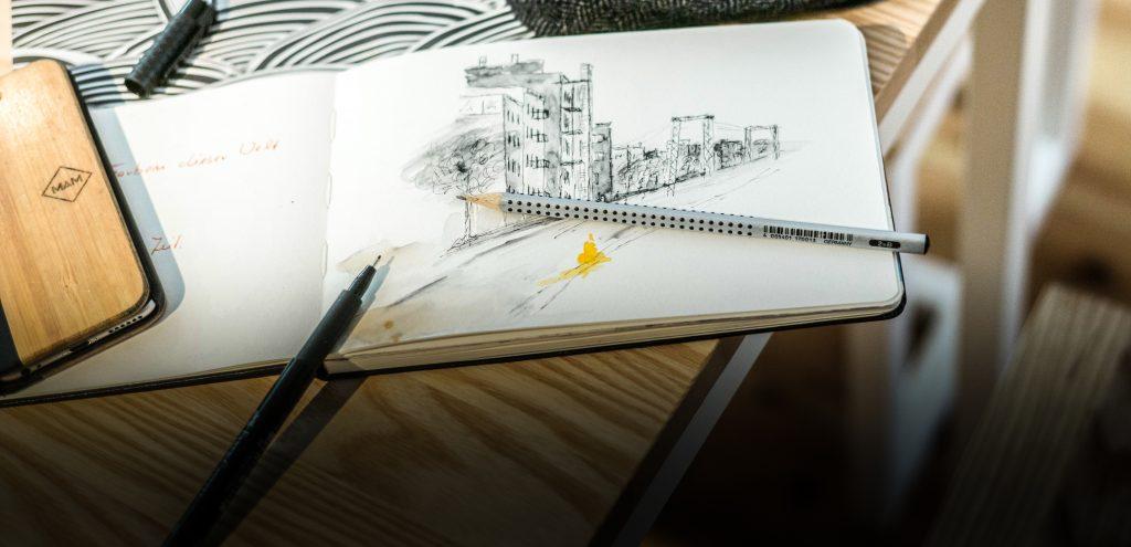 Der Bleistift als Fotoapparat