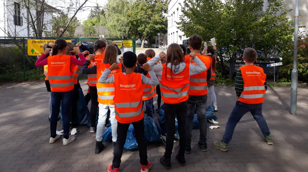Müllsammeln for future
