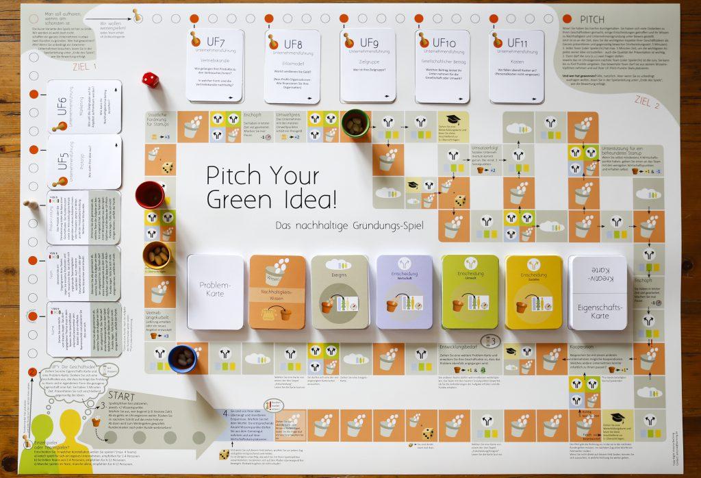 Pitch Your Green Idea! – Das nachhaltige Entrepreneurship-Spiel