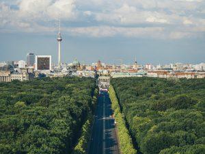 Sommerpanorama von Berlin